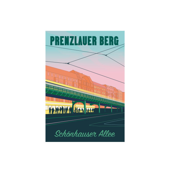 "Poster ""Prenzlauer Berg"""