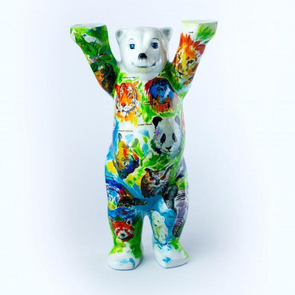"""Miniatur Buddy Bär """"Wildlife"""""""
