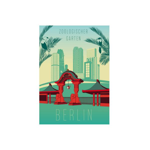 """Poster """"Zoologischer Garten"""""""