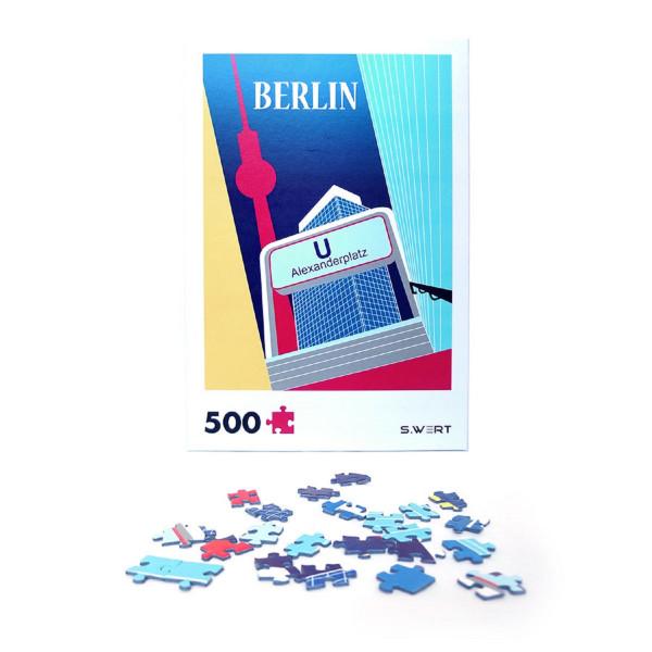 """Berlin-Puzzle """"Alexanderplatz"""""""