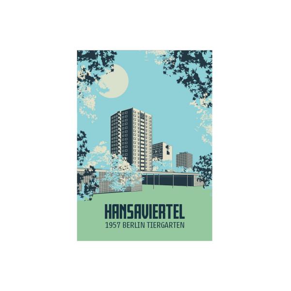 """Poster """"Hansaviertel"""""""