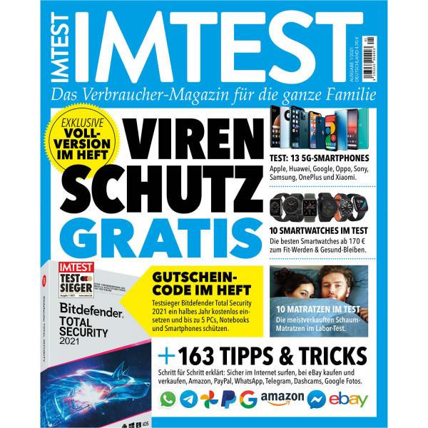 IMTEST - Virenschutz / Das Verbrauchermagazin 01/21