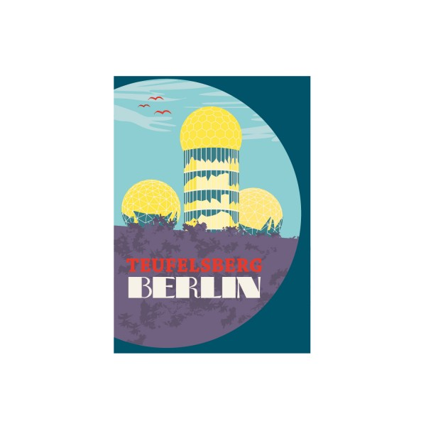 "Poster ""Teufelsberg"""