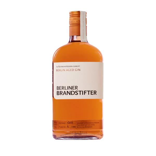 Berlin Aged Gin 0,7l – limitierte Sonderedition 2019 + gratis Berliner Brandstifter Jutebeutel