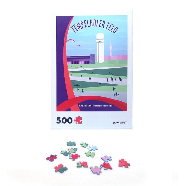 "Berlin-Puzzle ""Tempelhofer Feld"""