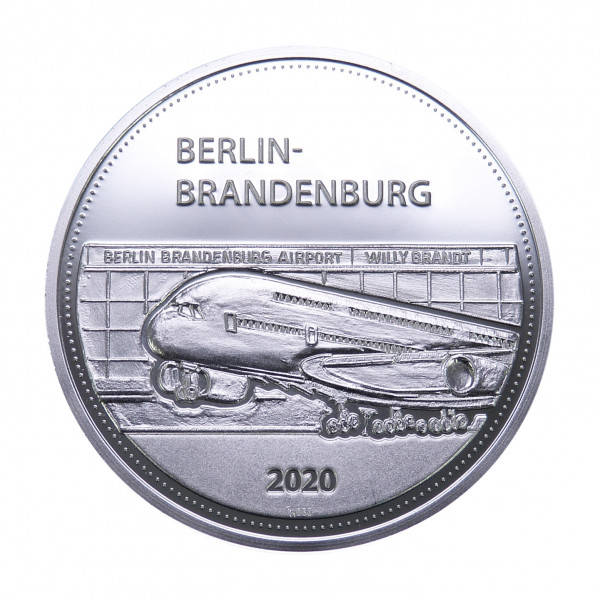 Sonderprägung Berlin-Brandenburg – silber
