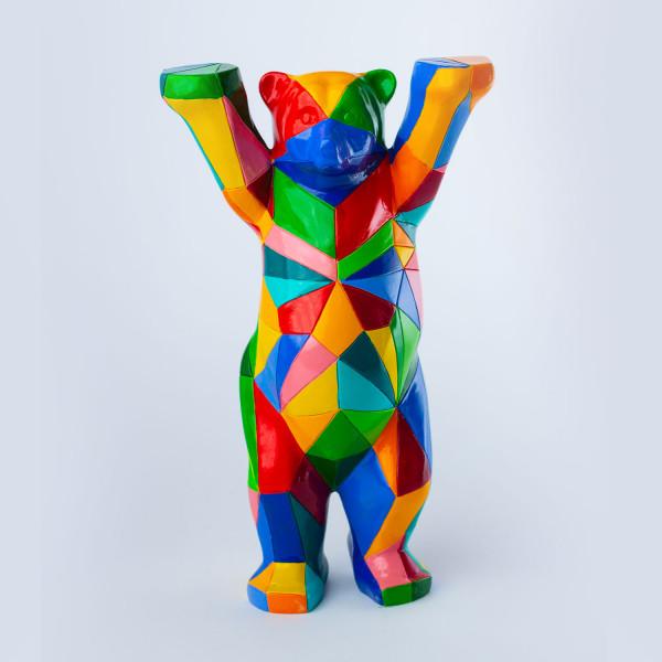 """Miniatur Buddy Bär """"Polygon"""""""