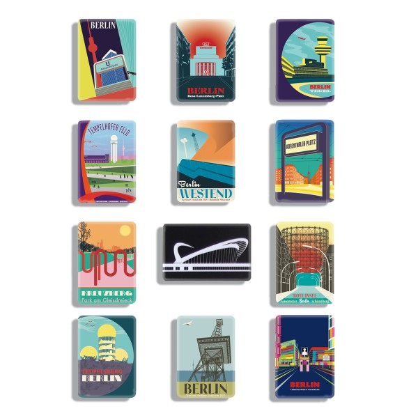 Berlin Magnet Set
