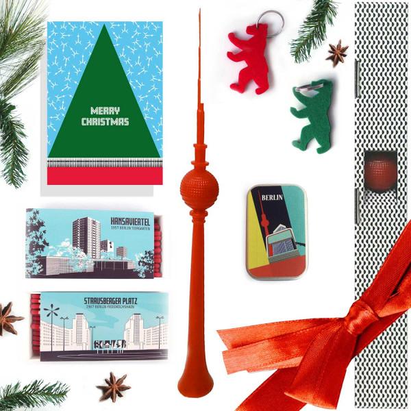Weihnachts-Geschenkbox Berlin Merry Christmas