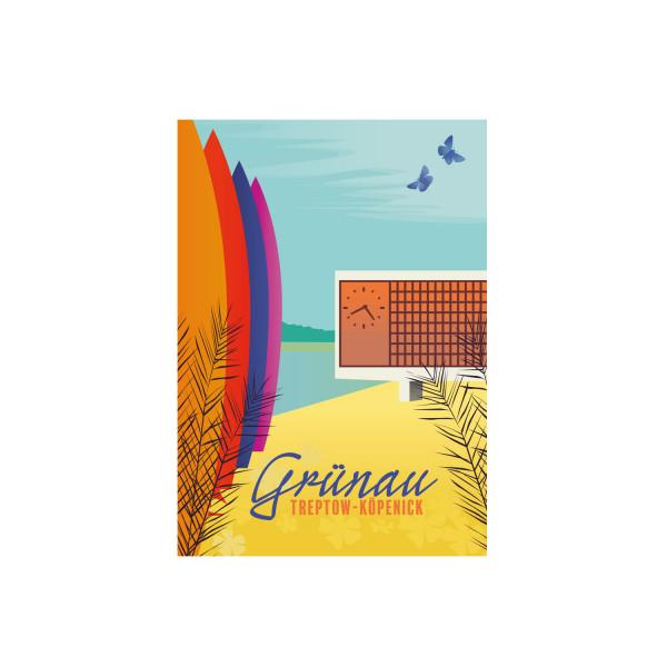 "Poster ""Grünau"""