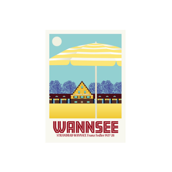 "Poster ""Wannsee"""