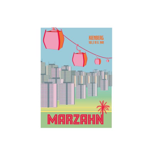 "Poster ""Marzahn"""