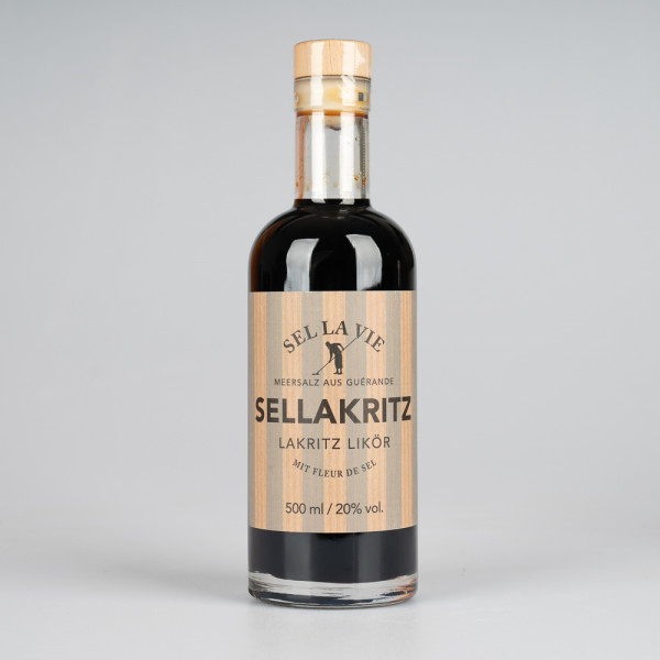 Sellakritz Lakritz Likör 500ml