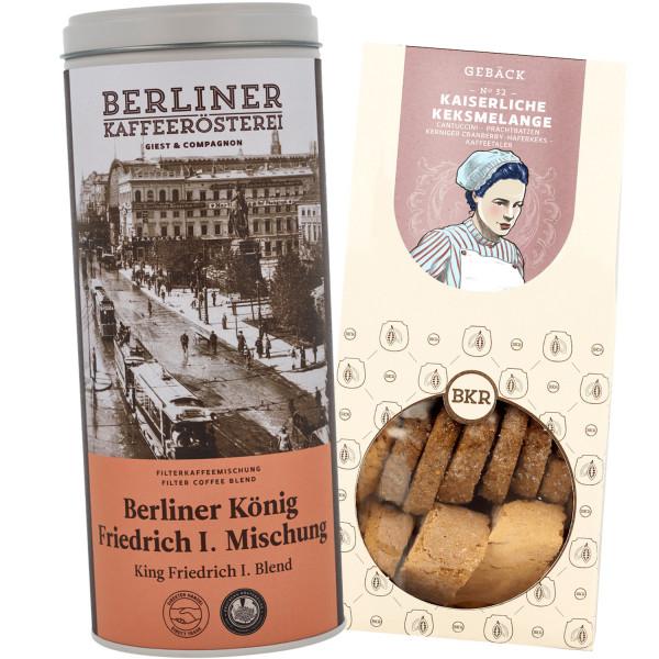 """Kaffee- und Gebäckset """"Berliner Schloss"""""""