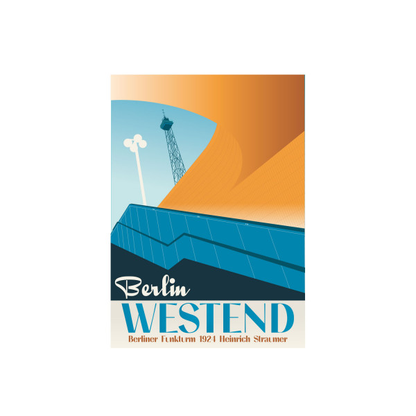 """Poster """"Westend"""""""