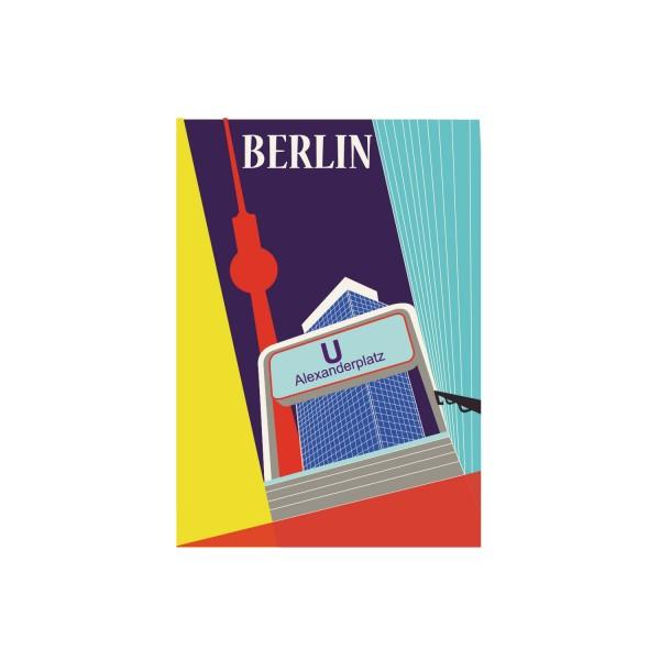 "Poster ""Alexanderplatz"""