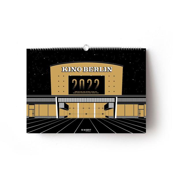 Wandkalender 2022: Kino Berlin