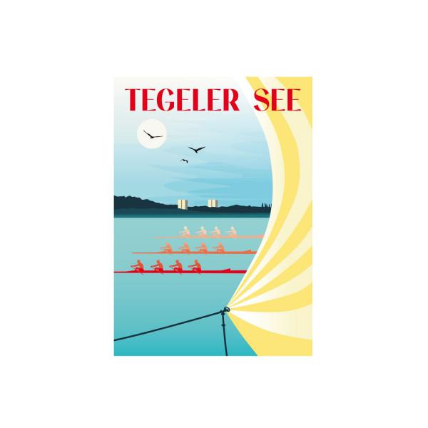 "Poster ""Tegeler See"""