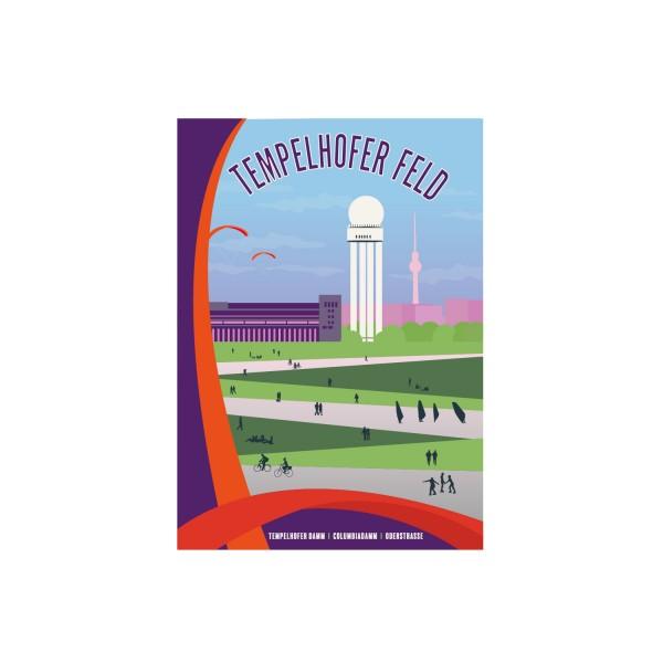 """Poster """"Tempelhof"""""""