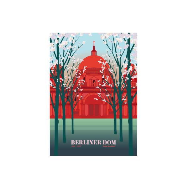 """Poster """"Berliner Dom"""""""