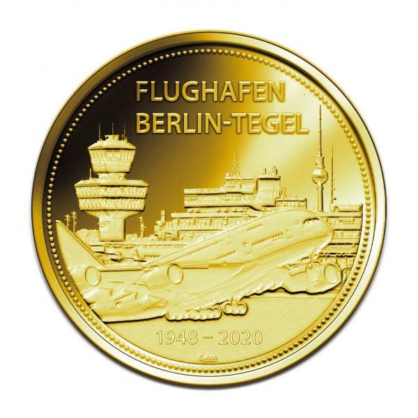 Sonderprägung Berlin Tegel – Gold