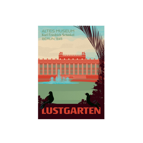 "Poster ""Lustgarten"""