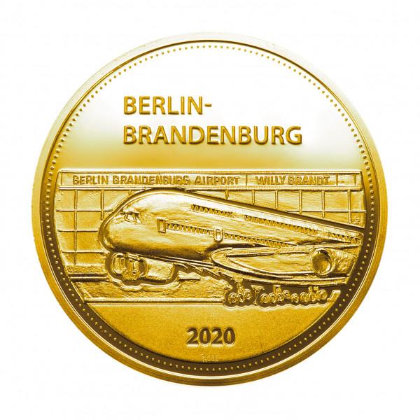 Sonderprägung Berlin-Brandenburg – Gold